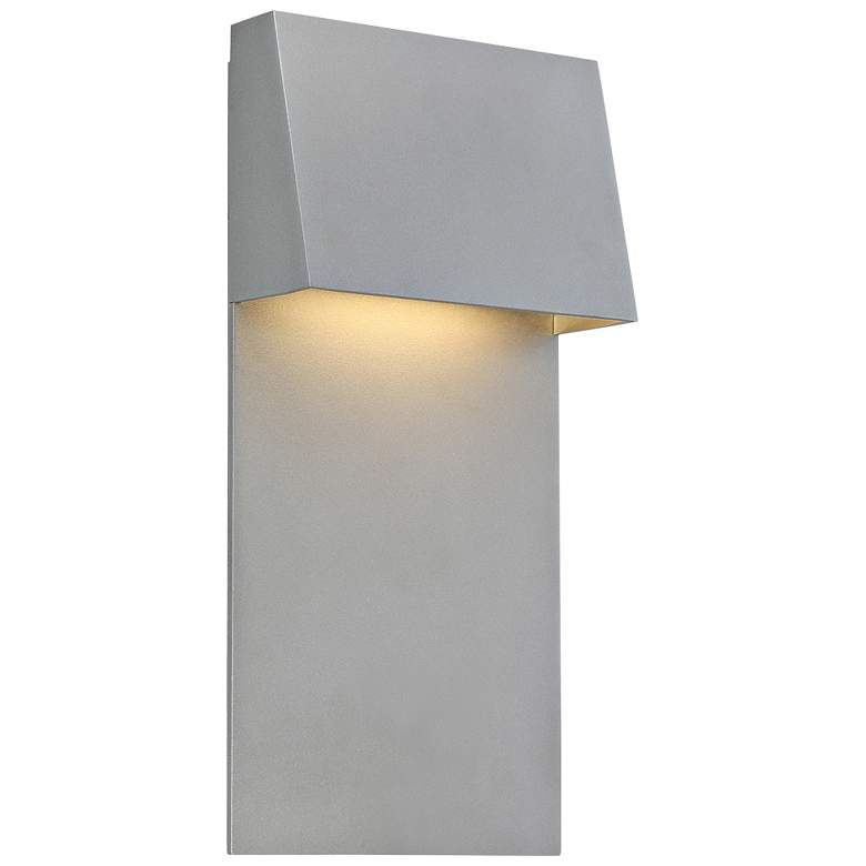 """dweLED Zealous 14"""" High Graphite LED Outdoor Wall"""