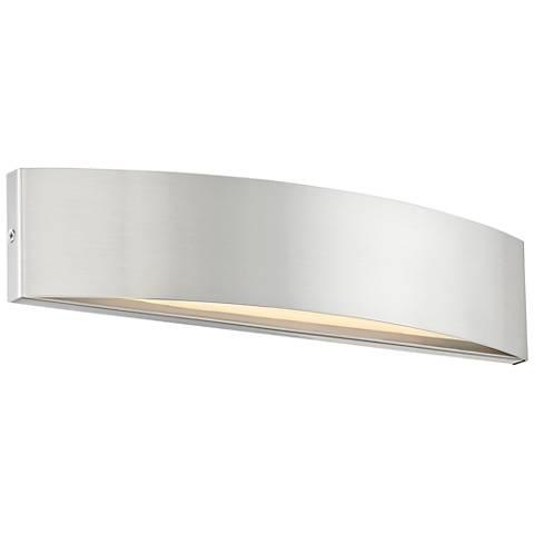 "dweLED Link 3"" High Brushed Nickel LED Wall Sconce"