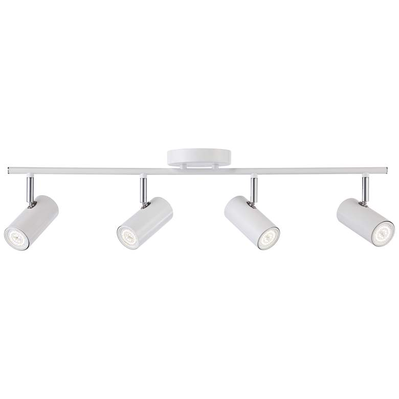 Pro Track Galena 4-Light White LED Track Fixture