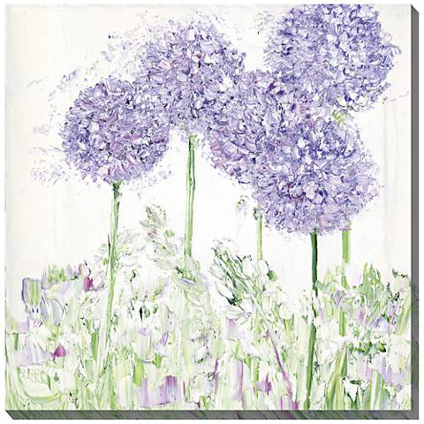 """Sweet Simplicity 24"""" Square Indoor-Outdoor Canvas Wall Art"""