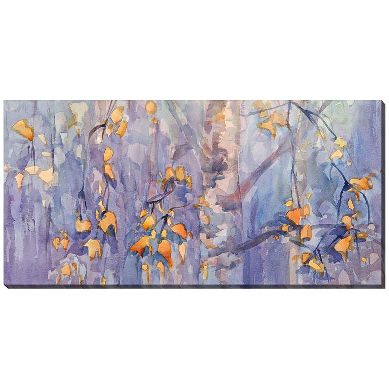 "First Frost 48""W All-Weather Indoor-Outdoor Canvas Wall Art"
