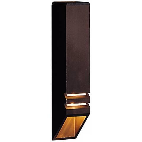 Kichler Architectural Bronze Louvered Deck Down Light