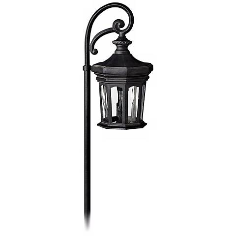 Hinkley Raley Collection Museum Black Low Voltage Path Light