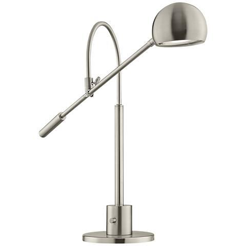 Lite Source Randall Brushed Nickel LED Desk Lamp