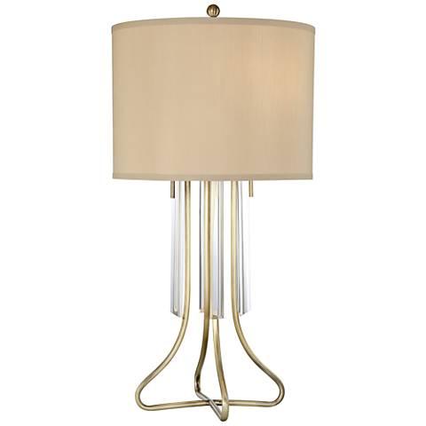 Lite Source Chantelle Antique Brass Table Lamp
