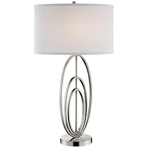 Lite Source Bailee Brushed Nickel Table Lamp