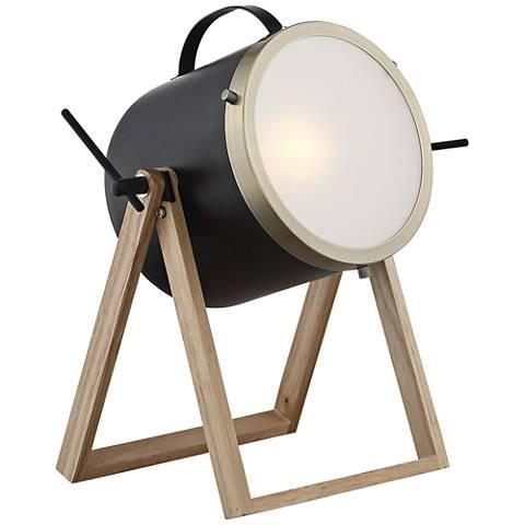 Lite Source Sully Matte Black Desk Lamp