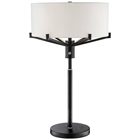 Lite Source Jerod Black Metal Table Lamp