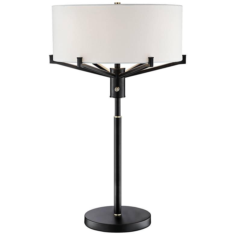 Lite Source Jerod Black Metal Table Lamp