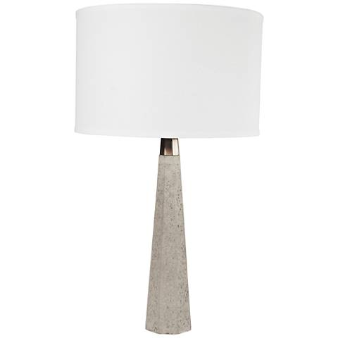 Lite Source Towton Gray Table Lamp