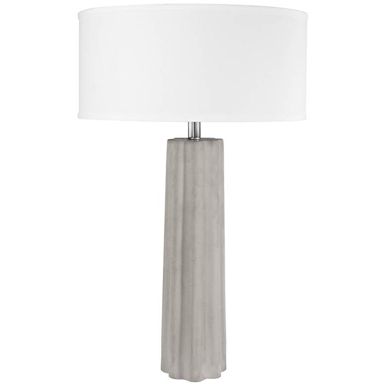 Lite Source Clementine Gray Table Lamp