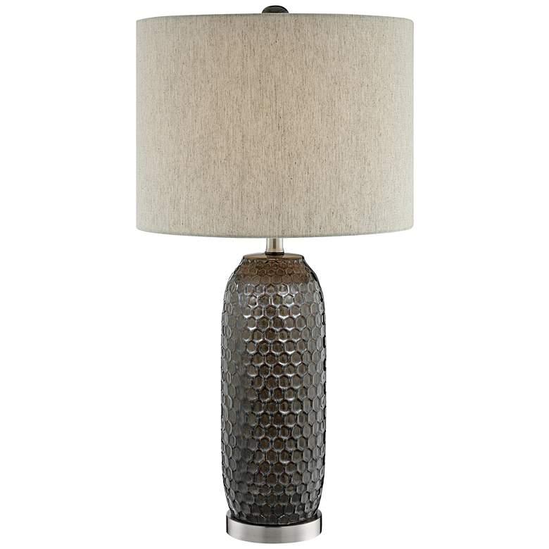 Lite Source Covington Aged Bronze Ceramic Table Lamp