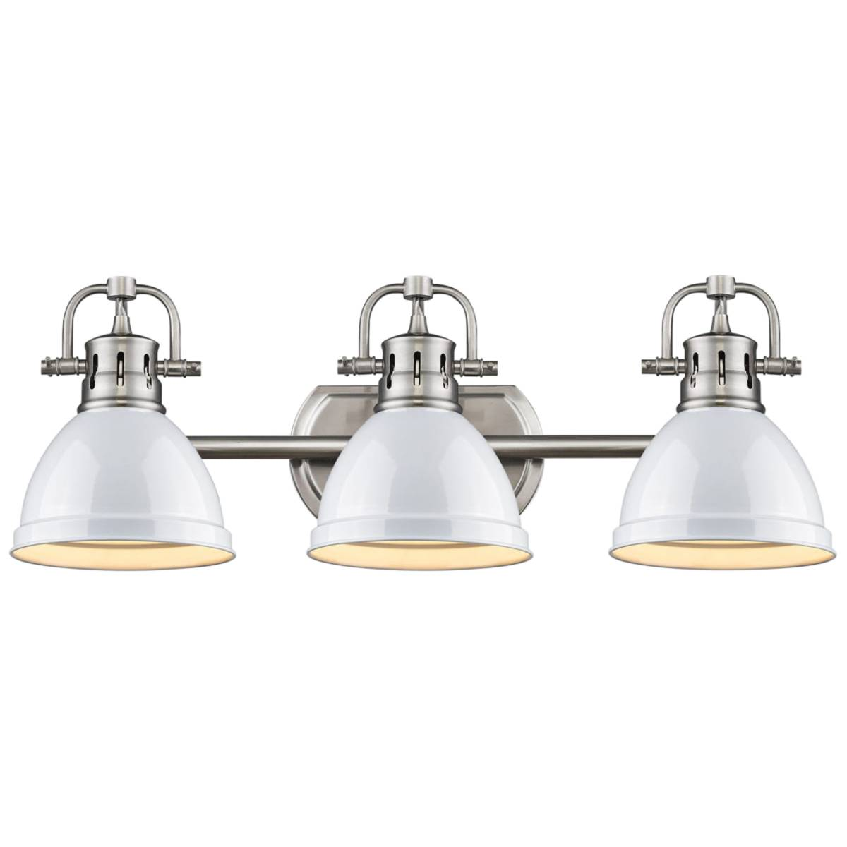 Pewter Bathroom Lighting Lamps Plus