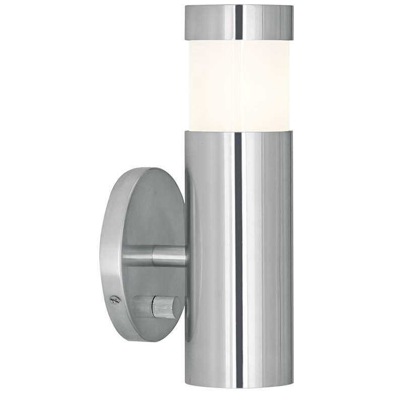 Robert Abbey Peek Polished Aluminum Plug-In Wall Lamp