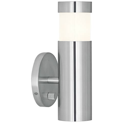 Robert Abbey Peek Polished Aluminum Plug-In Wall Lamp