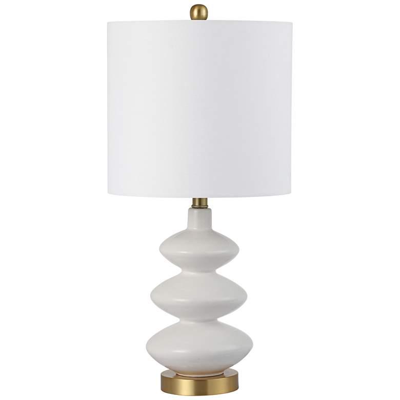 Lasalle White Ceramic Table Lamp