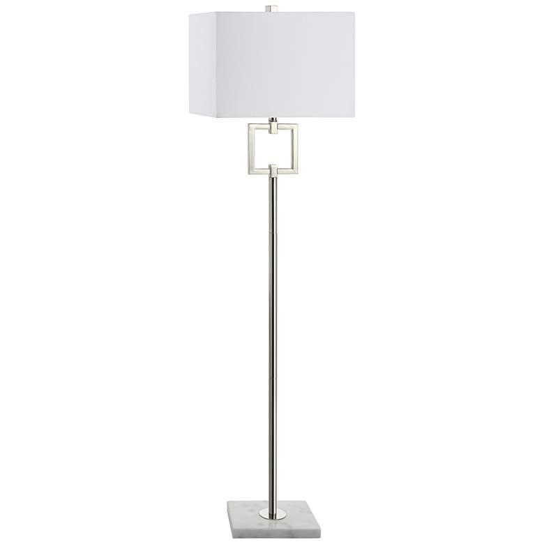 Ulfinian Polished Nickel Floor Lamp