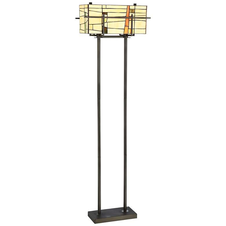 Lite Source Mansur Dark Bronze Floor Lamp