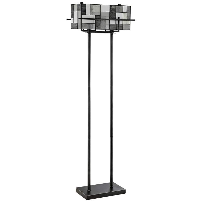 Collins Modern Tiffany-Style Floor Lamp by Lite Source
