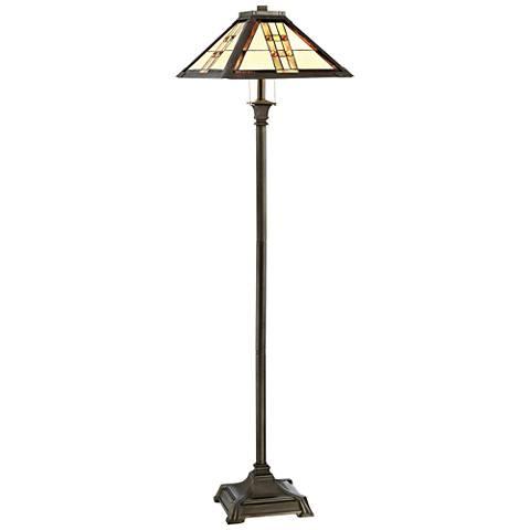 Lite Source Brayton Dark Bronze Floor Lamp