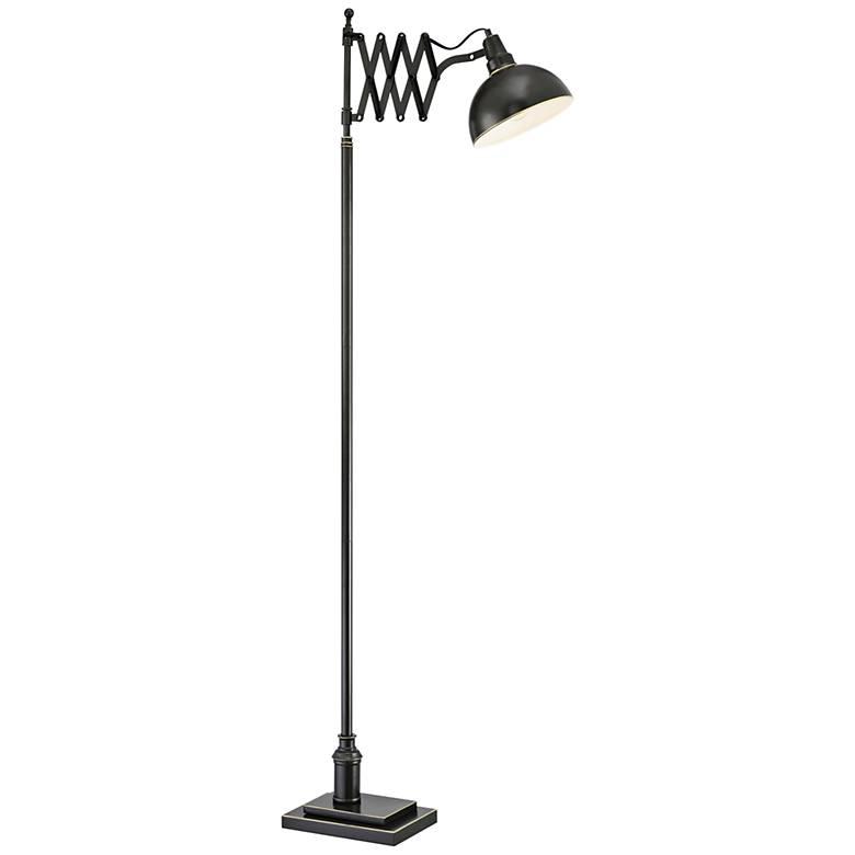 Lite Source Armstrong Dark Bronze Floor Lamp