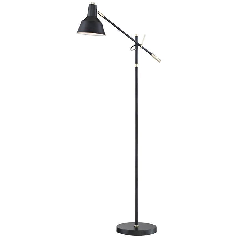 Lite Source Tremont Matte Black Floor Lamp