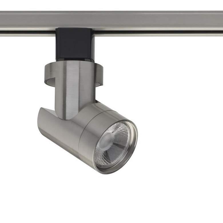 12W 36 Degree Brushed Nickel LED Track Head