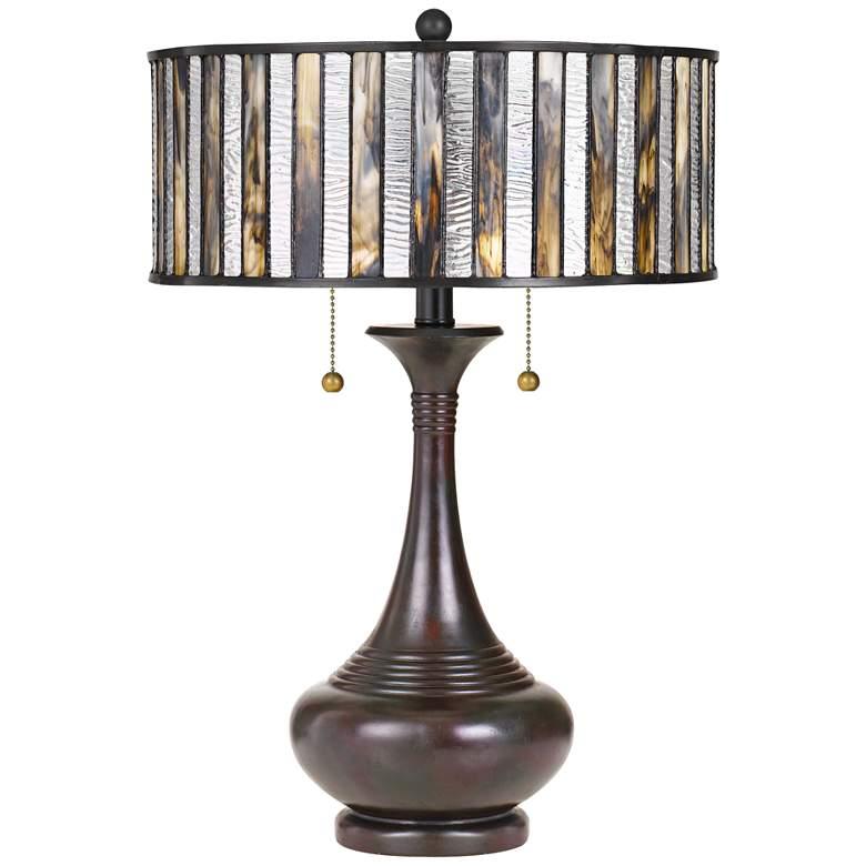 Quoizel Roland Valiant Bronze Accent Table Lamp