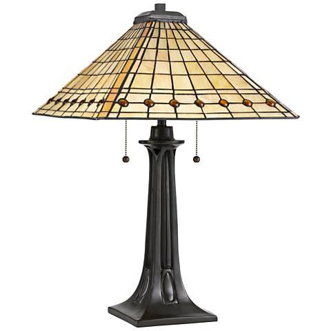 Quoizel Braden Vintage Bronze Table Lamp