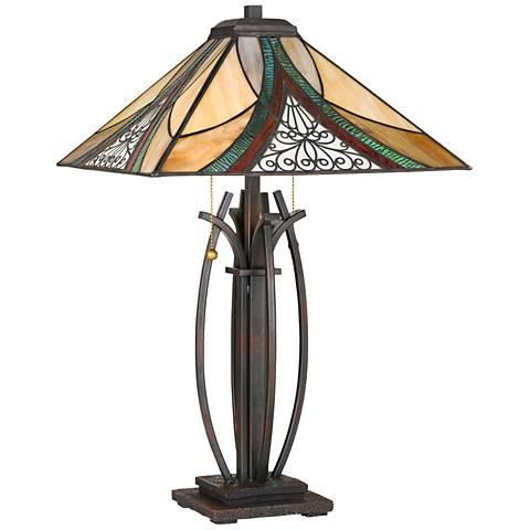 Quoizel Orleans Valiant Bronze Table Lamp