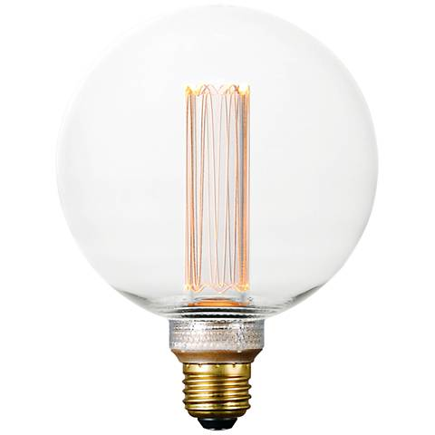40W Equivalent 3.5W LED Dimmable Standard G40 Clear Bulb