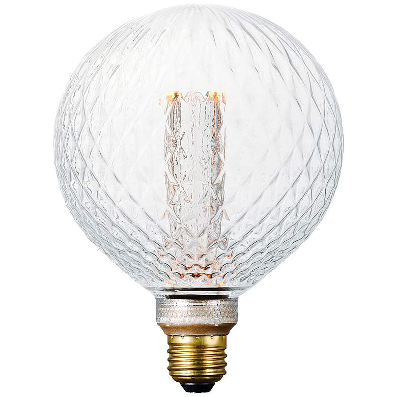 40W Equivalent Glass 3.5W LED Dimmable Standard G40 Bulb