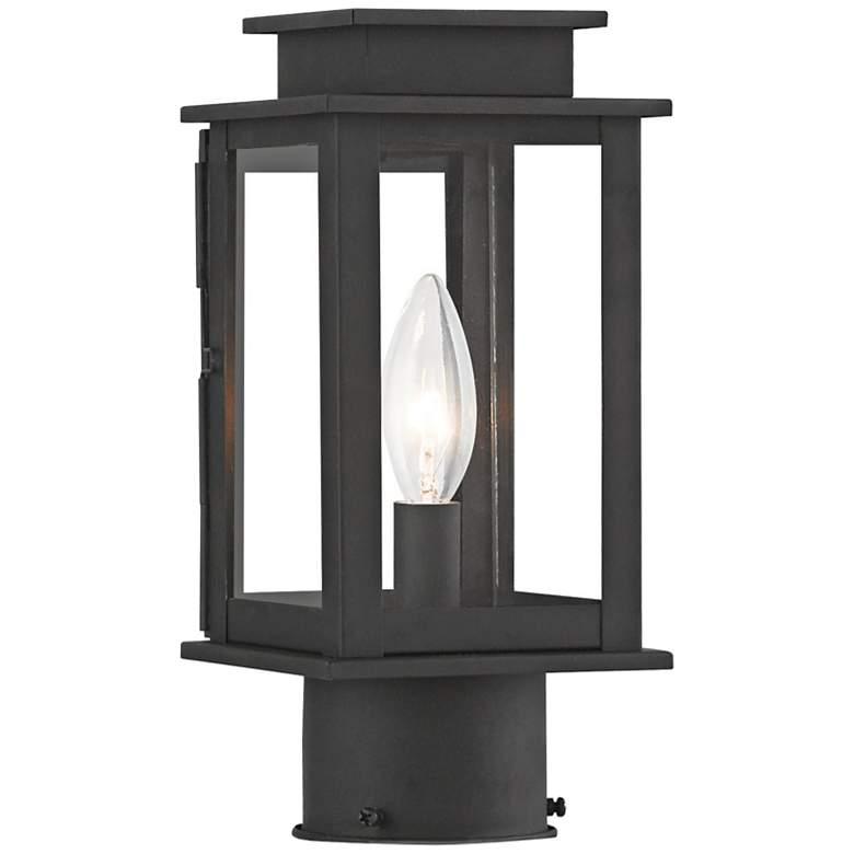 "Princeton 10 1/2"" High Black Outdoor Post Light"