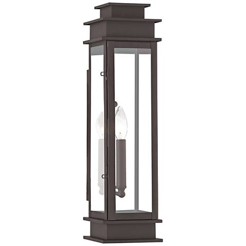 "Princeton 20 1/4"" High Bronze Outdoor Wall Light"