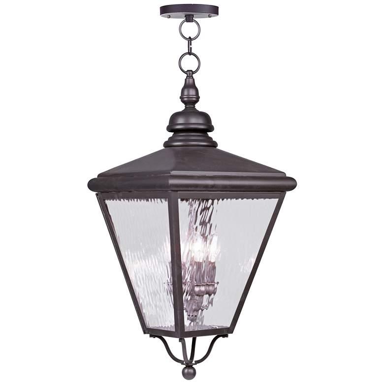 """Cambridge 31"""" High Bronze Outdoor Hanging Light"""