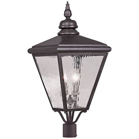 "Cambridge 30 1/2"" High Bronze Outdoor Post Light"