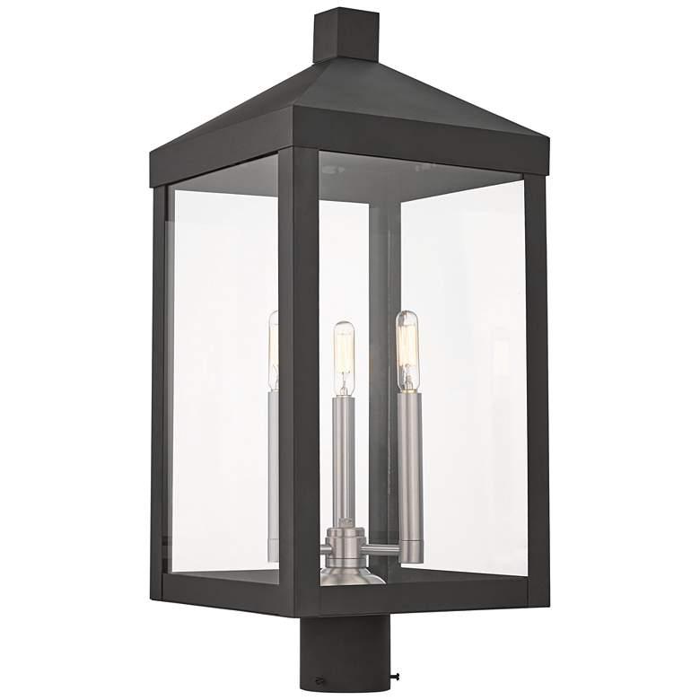 "Nyack 24"" High Black Outdoor Post Light"