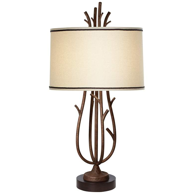 "Rustic Twig 31"" High Table Lamp"