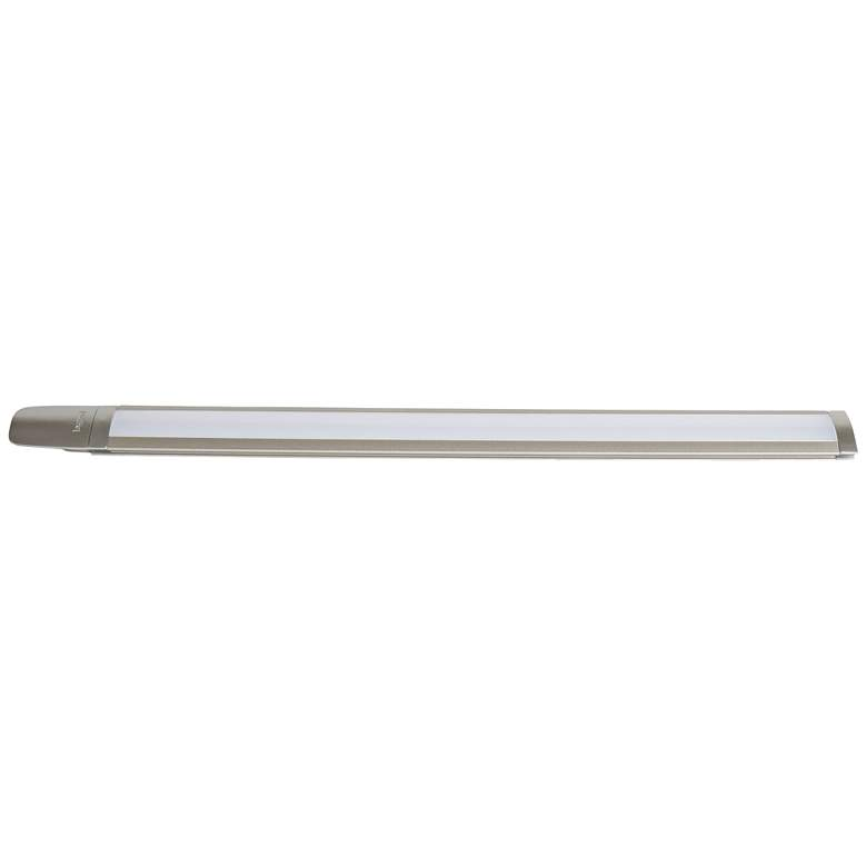 "adorne® 12"" Wide Titanium LED Slimine Light"