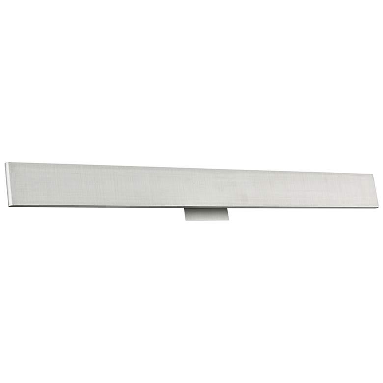 "Slim 36"" Wide Brushed Aluminum Up-Down LED Bath Light"