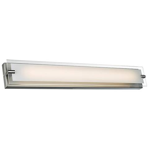 """Blaze 28 1/4"""" Wide Brushed Nickel LED Bath Light"""