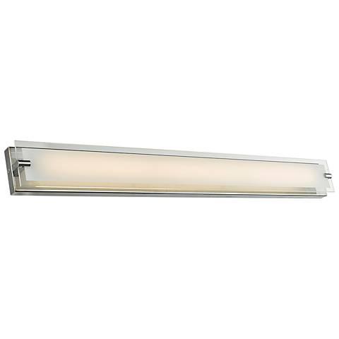 "Blaze 28 1/4"" Wide Chrome LED Bath Light"