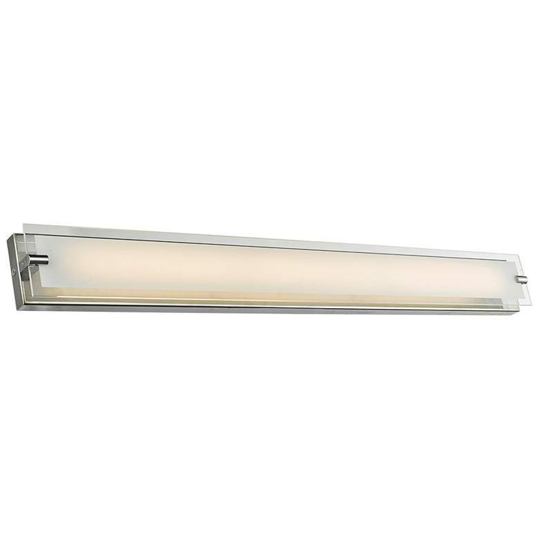 "Blaze 39 1/2"" Wide Chrome LED Bath Light"