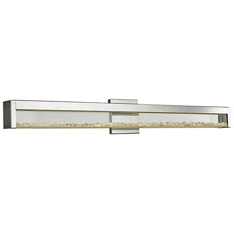 "Dazzle 36 1/4"" Wide Chrome LED Bath Light"