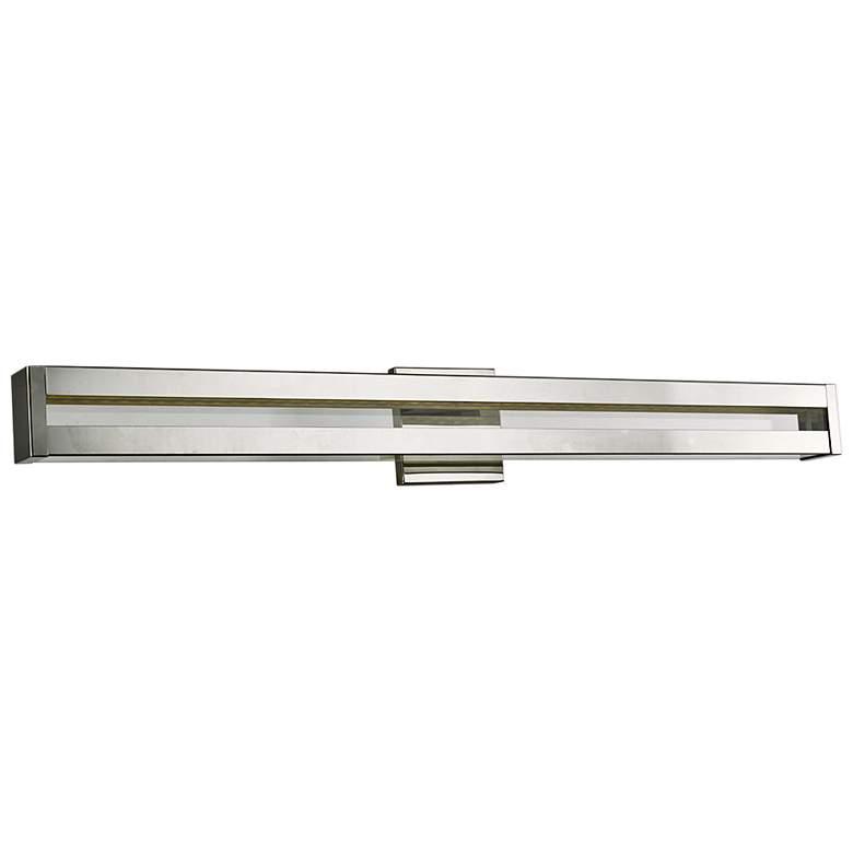 """Awe 36 1/4"""" Wide Chrome LED Bath Light"""
