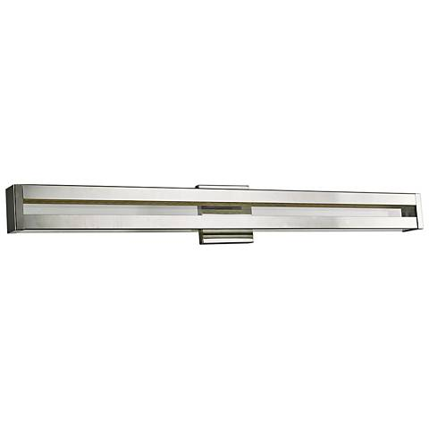 "Awe 36 1/4"" Wide Chrome LED Bath Light"