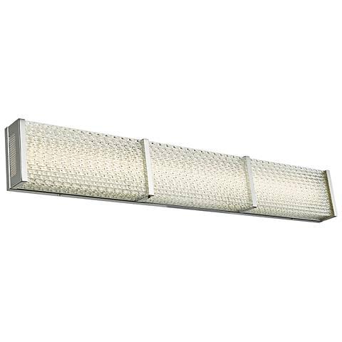 """Evoke 31 1/2"""" Wide Chrome LED Bath Light"""