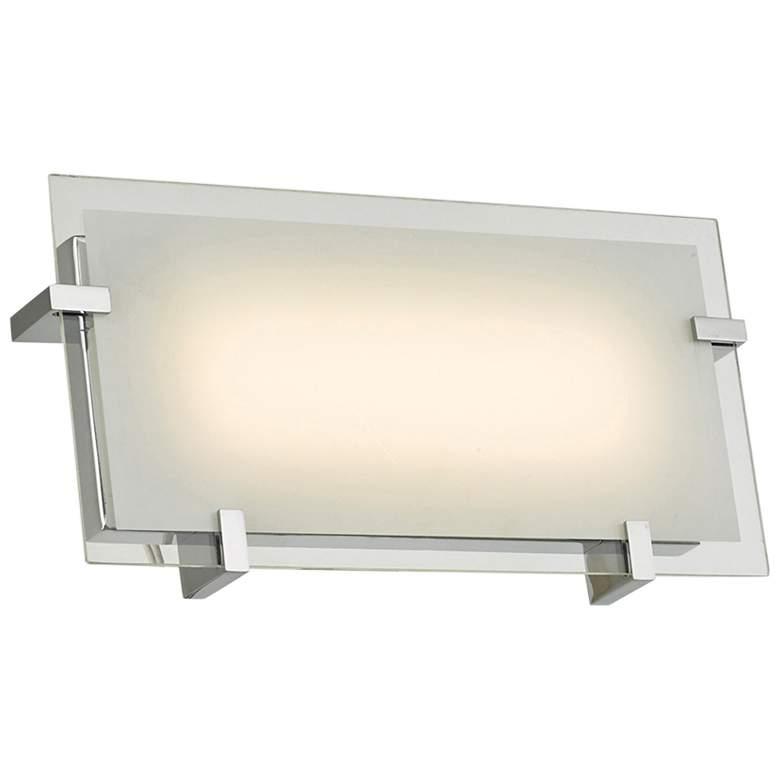 "Matrix 12"" Wide Chrome LED Bath Light"