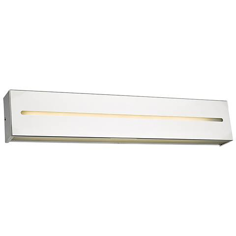 "Grin 24"" Wide Chrome LED Bath Light"