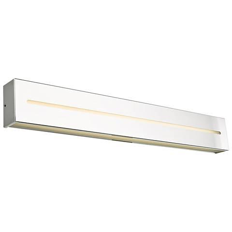 "Grin 32"" Wide Chrome LED Bath Light"